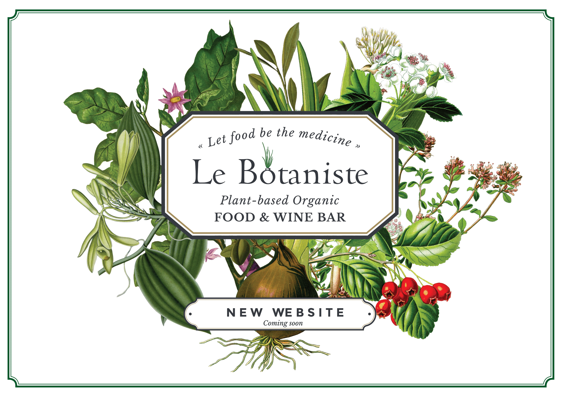 Le Botaniste Coming Soon